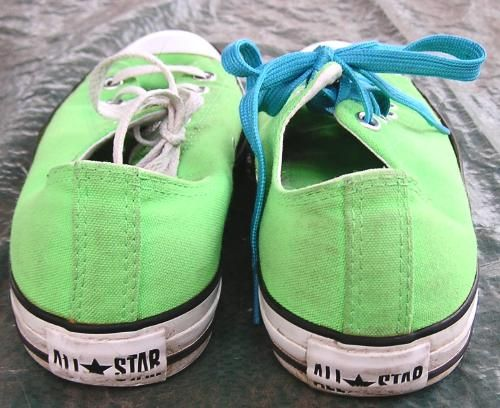 Lime Green Converse All-Star Shoes